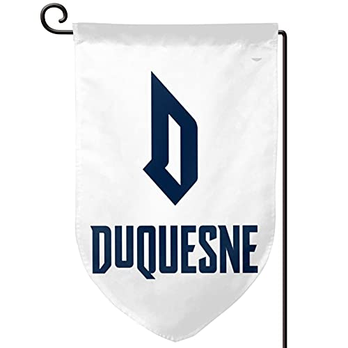 Voglawear Duquesne Dukes University, Garden Flag - Double Sided Banners for Outdoor Indoor Home Garden Yard Decorations