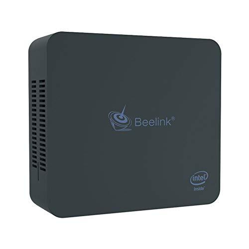 Mini PC Beelink U55 Windows 10 Pro Intel Core i3-5005U Processor Intel HD Graphics 5500/ 8GB RAM+256GB SSD/Dual HDMI/Dual WiFi/ BT4.0/ Fan (Supports Extended RAM & SSD)