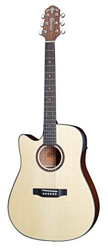 Crafter HiLITE de SP/N de LH Electro–Guitarra acústica dreadnought