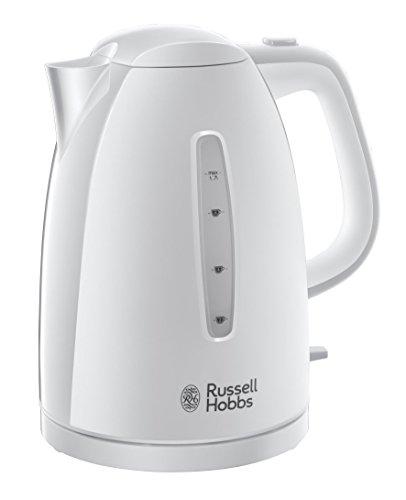 Russell Hobbs Wasserkocher, Kunststoff, Weiß