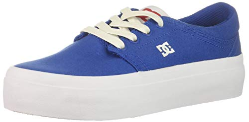 DC Women's Trase Platform TX SE Skate Shoe, Royal Blue, 5.5 B M US