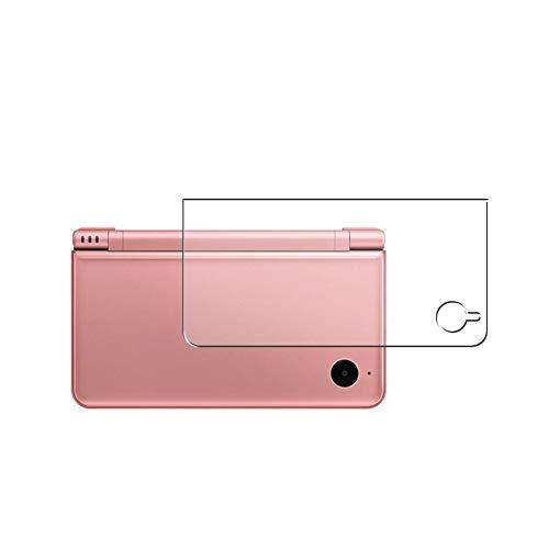 Vaxson 2 Unidades Protector de pantalla Posterior, compatible con Nintendo DSI XL [No Vidrio Templado] TPU Película Protectora Espalda Skin Cover