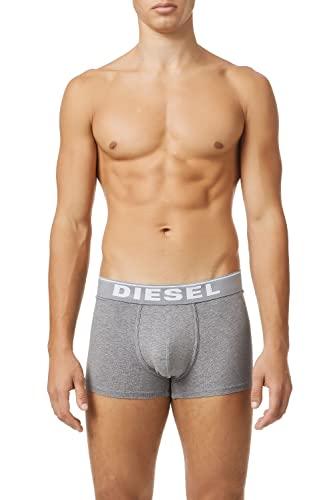 Diesel UMBX-DAMIENTHREEPACK, Calzoncillo para Hombre, Multicolor (Dark Grey Melange/Black/Bright White E3843/0jkkb), S, Pack de 3
