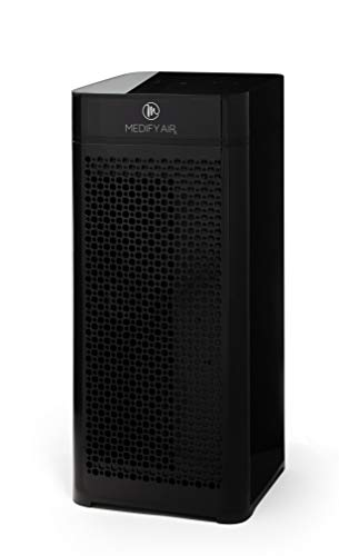 Medify MA-40B V2.0 Medical Grade Filtration H13 True HEPA for 840 Sq. Ft. Air Purifier, 99.97% | Modern Design - Black