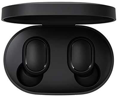 Xiaomi Mi True Wireless Airdots Earbuds Basic Cuffie Wireless Bluetooth 5.0 - Audio Stereo (Stereo) Hi-Fi Custodia di ricarica Magnetica Microfono 15h Autonomia IPX5 - Certificato CE Nero
