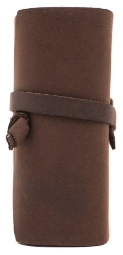 """INDIARY Luxury Wild Leather Bound Journal 100% Cotton Handcrafted Paper 5x4"""" - WILD A6 - Brown Photo #2"""