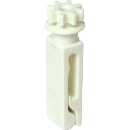Vertical Window Self Aligning Blind Stem White Package of 10 (Covering Treatment Hardware)