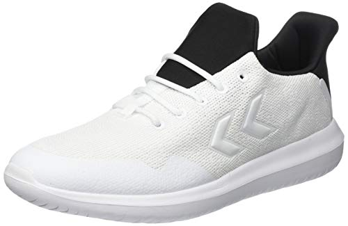 Hummel Actus Trainer 2.0, Zapatillas Unisex Adulto, Blanco (White 9001), 41 EU