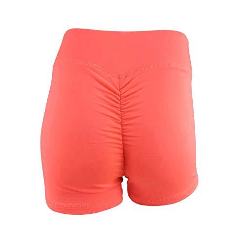 Daytwork Donna Sport Yoga Shorts - Signore Elastico Alta Vita Pantaloncini Jogging Fitness Palestra Allenamento Pantaloni Ghette Traspirante