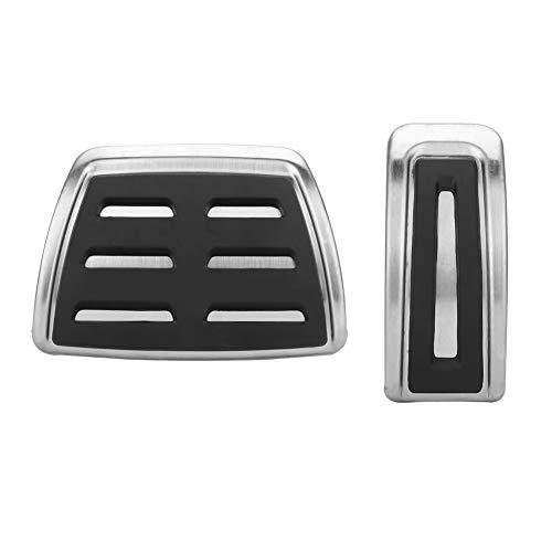 Pedale per auto, coperture per pedali automatici per auto in acciaio inossidabile 2 pezzi adatte per A1 A3 TT