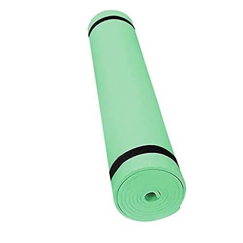 Estera de yoga Alfombra de yoga 4 mm PVC alfombrillas de yoga de PVC antideslizante PVC Gimnasia Deporte Deporte Salud perder peso Peso Aptitud Ejercicio Pad Mujer Gimnasia Mat Buena flexibilidad y fu