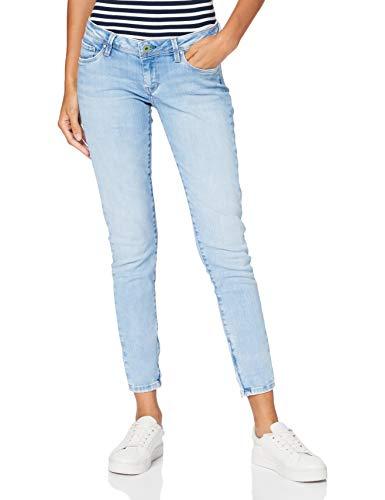 Pepe Jeans Damen Cher Skinny Jeans Herren, Blau (Denim), 31W / 28L