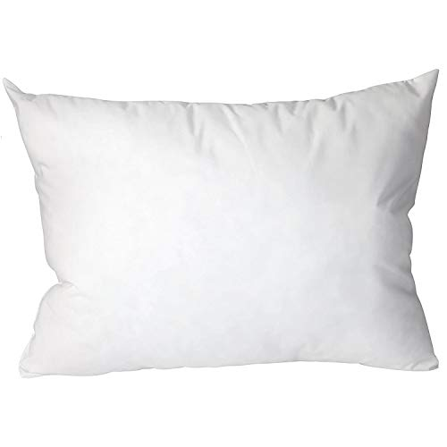 DMI Hypoallergenic Bed Pillow with Dust Mite and Allergen Resistant Fabric, Standard 19 x 27, White