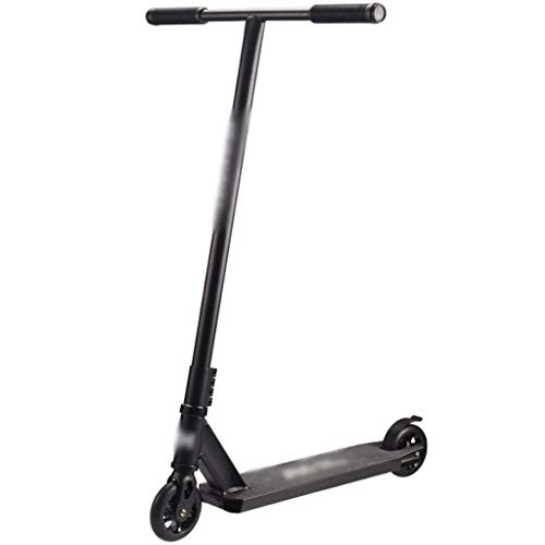 Patinete Fun Scooter Patinete De Varilla Tipo T, Scooter Competitivo Profesional, Scooters Deportivos para Adultos para Chicos (Color : Black, Size : 59 * 55 * 93cm)