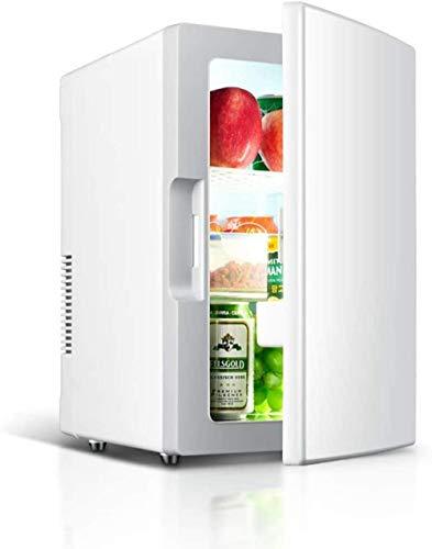 Tragbarer Minikühlschrank, freistehender 18-Liter-Thekenkühlschrank und Gefrierschrank Auto Studentenwohnheim für Heizung und Kühlbox