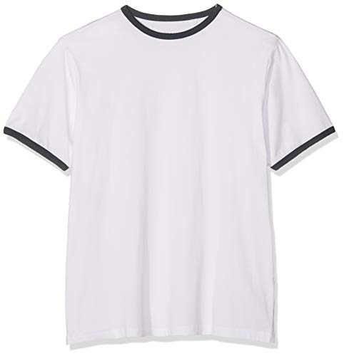 JACAMO Mens SS Zip Neck Polo Shirt Hombre