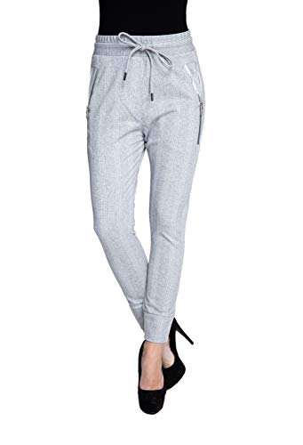 Zhrill dames joggpant stoffen broek pak broek tapered Cropped Slim Fit Fabia