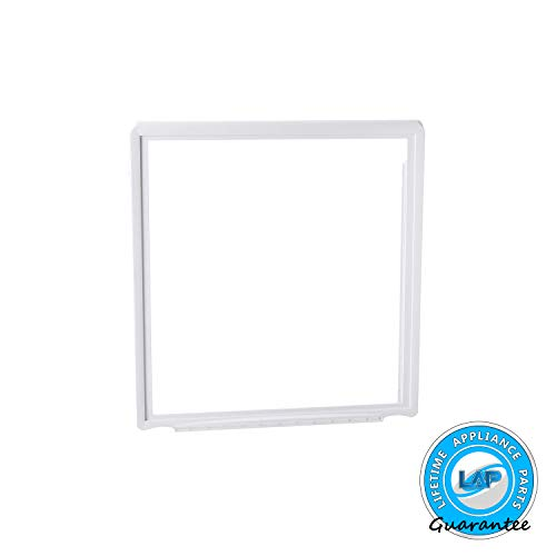 Lifetime Appliance 241969501 Crisper Pan Cover Compatible with Frigidaire Refrigerator