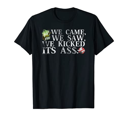 Ghostbusters ,We Came, We Saw, I've KIcked It's Ass T-shirt, 5 Colors, Adult, Youth