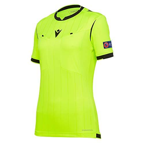 Macron Fußball 1/2-Shirt UEFA Referee 19 Schiedsrichter Trikot Damen hellblau Gr M