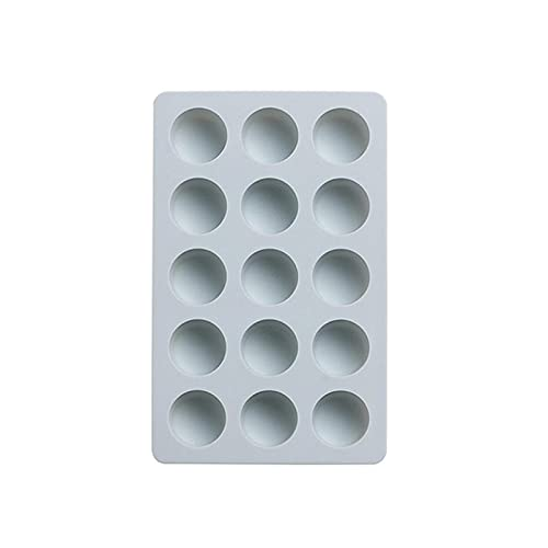 Bandeja de cubitos de hielo de panal de 15 cubos de silicona con forma de Mickey de fresa y forma de cubitos de hielo molde con tapas para bebidas de whisky de fiesta