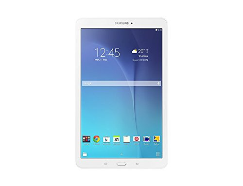 "Samsung Galaxy Tab E - Tableta de 9.6"" (Memoria de 8 GB, cámara de 9.6 MP, Android 4.4 KitKat), Color Blanco"