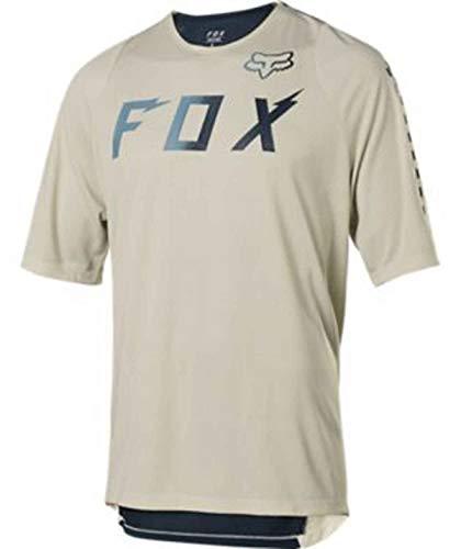 FOX MTB-Jersey Kurzarm Defend Wurd Blau Gr. M