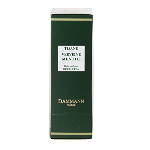 Dammann Freres Tee - Verbena-Peppermint (Verbena - Pfefferminze) - 24 Cristal Teabags