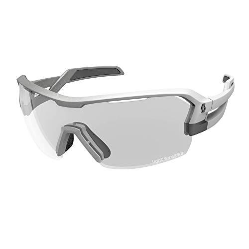 Scott Spur LS Fahrrad Wechselscheiben Brille silberfarben/Light Sensitive grau