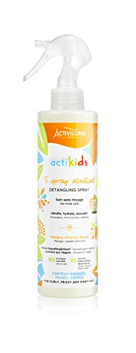 Activilong Actikids Ti Spray Démêlant À La Mangue/L'amande Douce 250 Ml