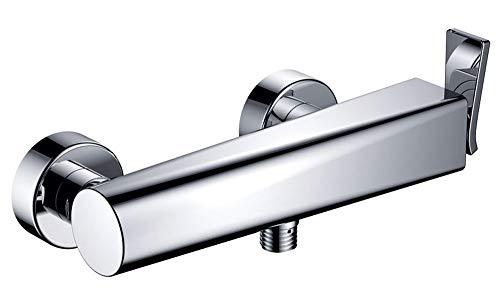 Sanlingo - Miscelatore monocomando cromato per doccia / vasca Jaro, stile moderno
