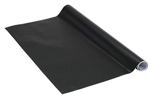 Venilia Tafelfolie Blackboard, Kreidetafel, Kühlschrank-Folie, selbstklebend, Phthalate, 45cm x 1,5m, Stärke: 0,15 mm, 53184, PVC, Tafel schwarz, 45 x 150 cm