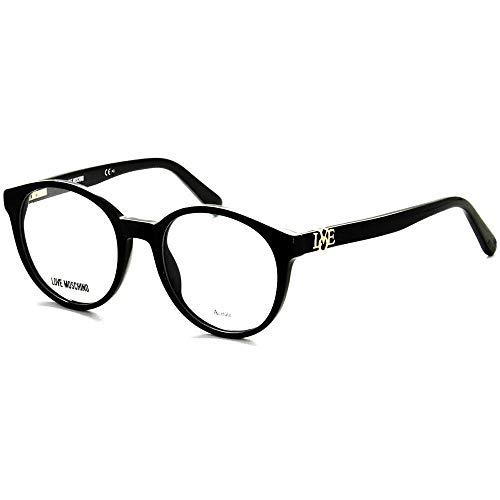 Love Moschino Occhiali da Vista MOL523 BLACK 49/19/145 donna