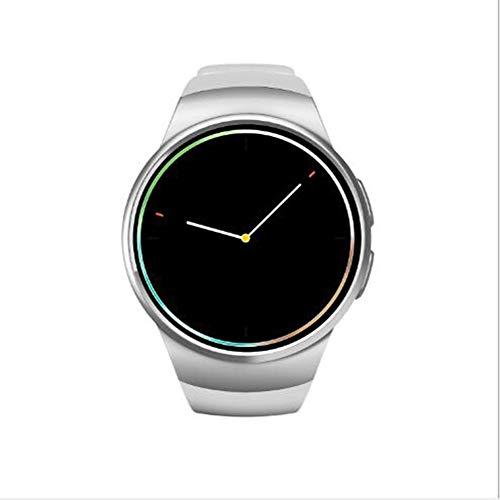 GPS Reloj Inteligente,Impermeable Dormir Pulsera De Actividad Reloj De Contador De Pasos Pressione Sanguigna Pulsómetros Monitor para iOS Y Android Smart Watche Blanco 1.3inch