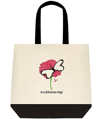 Custom Design Canvas Butterfly Shoulder tote All items in the store Manufacturer OFFicial shop hand - bag Large