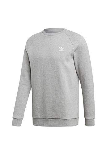 adidas Herren Essential Crew Pullover, Medium Grey Heather, L EU