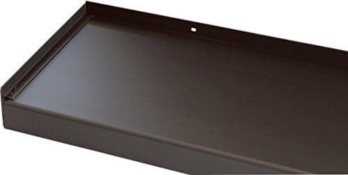 Fensterbank Fensterbrett 400 mm Tief Ohne Seitenteile 600 mm Lang Anthrazit
