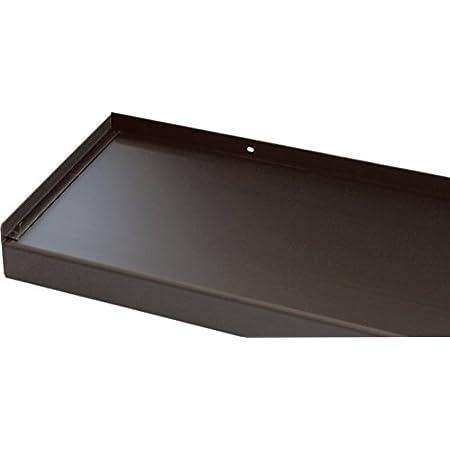 Fensterbrett 195 mm Tief 600 mm Lang Fensterbank Ohne Seitenteile Anthrazit