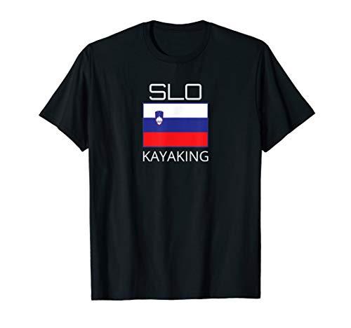 Slowenien Kajak Team Slovenian Kajaker SLO Flagge Pride T-Shirt
