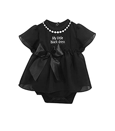 Stephan Baby – Baby's First Petite Robe Noire – 6–12 mois