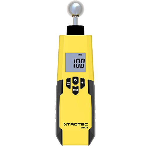 TROTEC Feuchtemessgerät Feuchteindikator BM31 Abschaltautomatik Messen Schimmel Feuchte Wände Innenraum...
