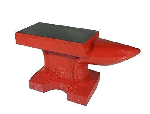 Incudine in ghisa con base e piano in ferro per officina fabbro/orafo/modellismo 1kg