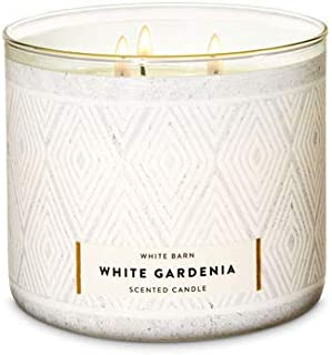 Bath and Body Works 3-Wick Limited Edition Candles EST-1990 COLLECTION (White Gardenia)