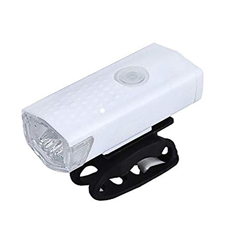Bike Lights Three-Speed Light Adjustment Bicycle Lights Front and Rear Suitable for Mountain Bicycle Lights for Night Riding Bicycle Rear Light,White + Tail Light