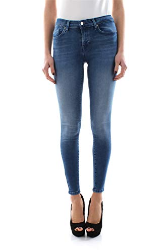 ONLY NOS Damen Skinny Jeans onlSHAPE REG SK DNM JNS BB REA3350 NOOS, Blau (Medium Blue Denim), W25/L32