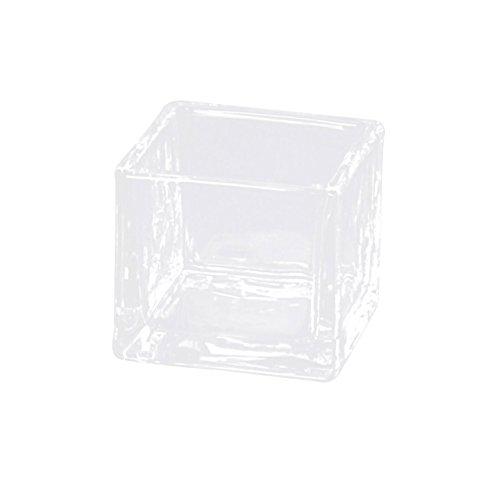 東京堂 ガラス花器 Qブリック7.5 クリア CC777112-000