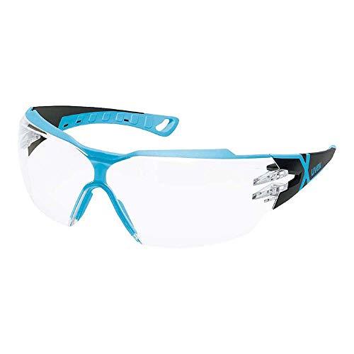 Uvex Occhiali sportivi occhiali protettivi occhiali da lavoro 9198pheos cx2con X-Brand adatti per combinazione con apparecchio acustico