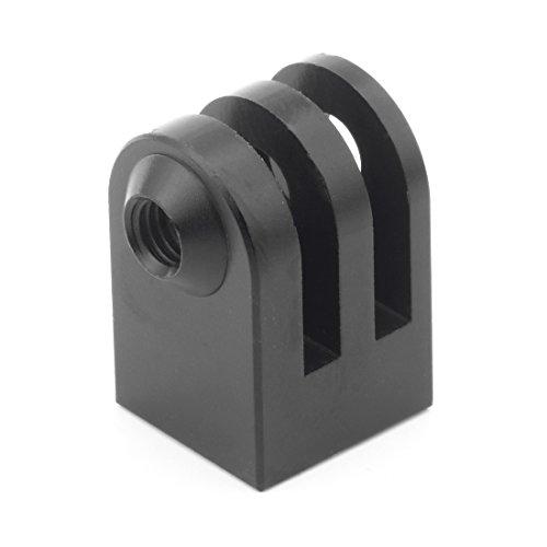 """BGNing CNC aluminio mini trípode montaje 360 grados rotación extensión base adaptador compatible con GoPro, EKEN, SJcam, YI, todos 1/4"""" tornillo monopod"""