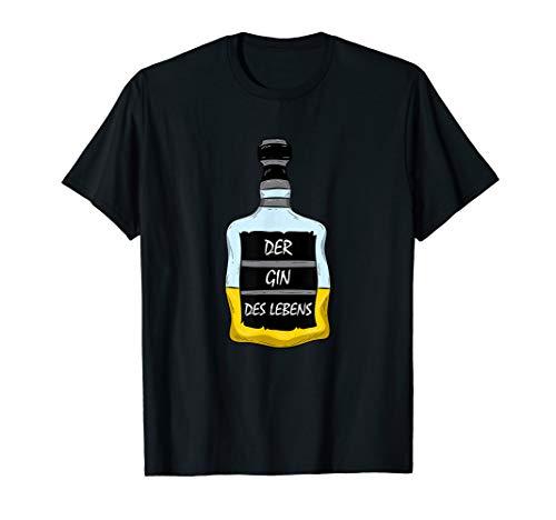 Der Gin Des Lebens Ginliebhaber Alkohol Trinkspruch Geschenk