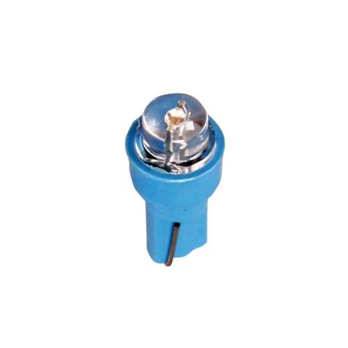 Pilot LA_58480 Lot de 5 ampoules LED T5 pour tableau de bord (Bleu)